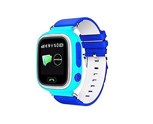 GPS reloj inteligente bebé reloj Q90 pantalla táctil wifi posicionamiento SOS Llamada dispositivo de localización Tracker para Niños seguro anti-lost ...