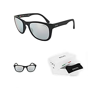 Rocks Eyewear - Dolomite Silver - Made in Italy - Men & Women Sunglasses - Style Wayfarer