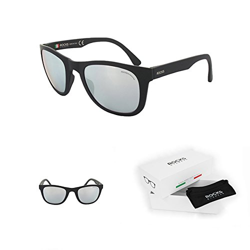 Rocks Eyewear - Dolomite Silver - Made in Italy - Men & Women Sunglasses - Style - Sunglasses Yeah