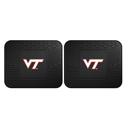 (FANMATS 12393 Virginia Tech Utility Mat - 2 Piece)