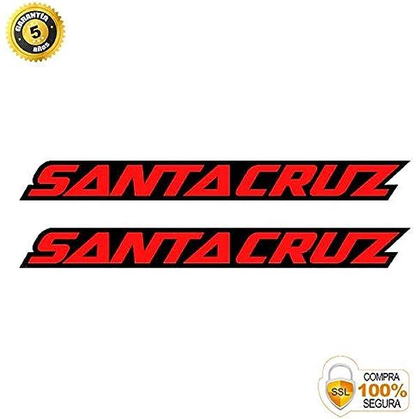 Pegatinas para Bici - Sticker Decorativo Bicicleta - Juego de Adhesivos en Vinilo para Bici Santa Cruz Pegatinas Cuadro Bici: Amazon.es: Coche y moto