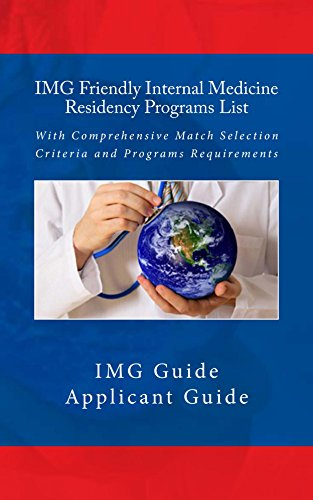 IMG Friendly Internal Medicine Residency Programs List: With Comprehensive Match Selection Criteria and Programs Requirements Pdf