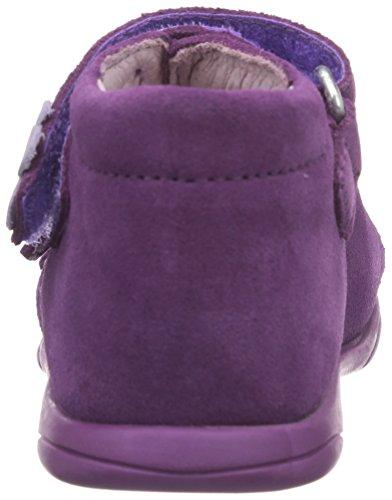 Däumling Benny - Zapatos primeros pasos de cuero para niña Violeta - Violett (Turino glicine25)