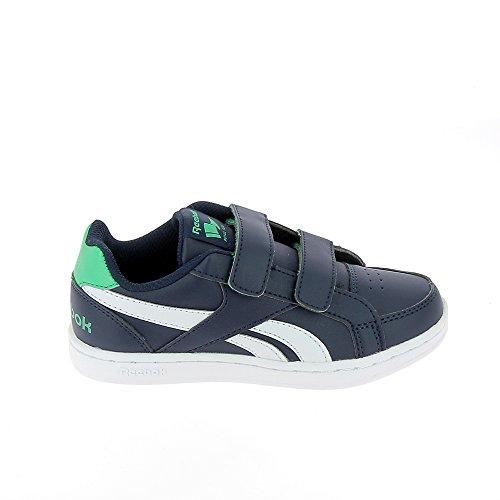 Reebok Bd2392, Zapatillas de Deporte Unisex Niños Azul (Navy / Bottle Green / White)
