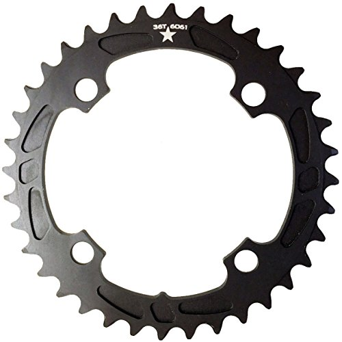 - USAMade 104mm BCD 4-Bolt SHARKTOOTH Narrow Wide Mountain Chainring Made in USA- New (36T)