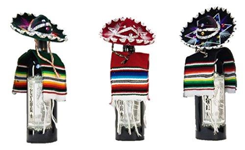 Sharpshooter Fiesta Mini Mariachi Hats and Lil Amigo Ponchos Party Set (Mini Mariachi & Poncho Set)