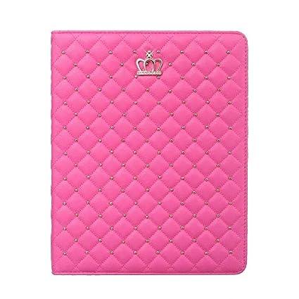 amazon com ipad air 2 case,crown design bling diamond fashion cover