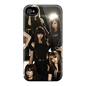 Durable Defender Case For Iphone 4/4s PC Cover(black Soshi)