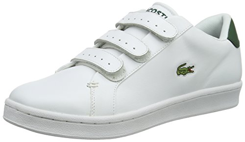 Lacoste Mens Camden New Cup S216 1 SPM Leather Trainers White wdQ00KYg