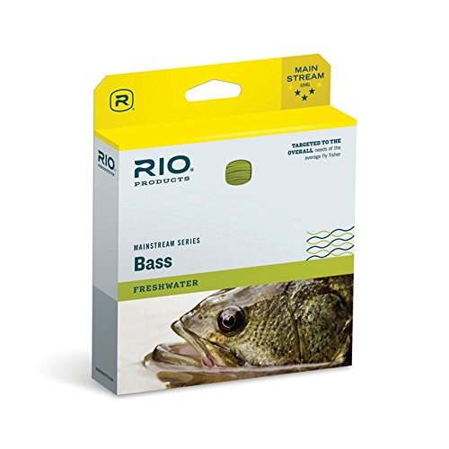 Rio Fly Fishing Mainstream Series Freshwater Bass/Pike/Panfish Floating Fly Line