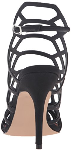 Madden Girl Womens Directt Dress Sandal, Black Paris, 6 M US Black Paris