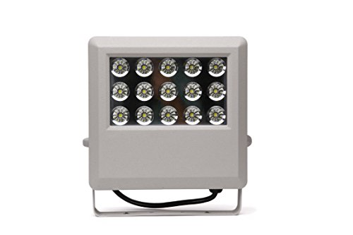HIGH Power LED FLOODLIGHT with 15 LED Bulbs in Display/Hitec Energy Saver/PhotoCell for Dusk to Dawn illumination/IP65 Cerftified Great for Outdoor Review