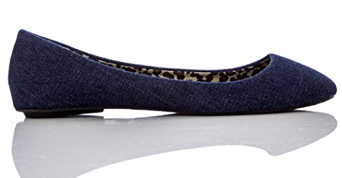 Charles Albert Cobra De Base Confort Ballerines Denim