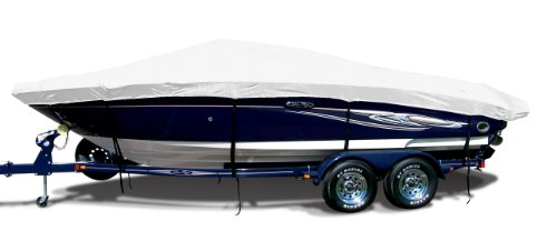 1989 Boston Whaler (Natural Exact Fit Boat Cover Fitting 1984-1991 Boston Whaler Outrage 18 O/B Models, 9.25 oz. Sunbrella Acrylic)