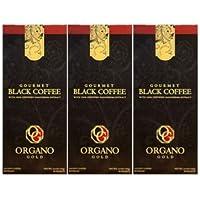 Organo Gold GOURMET BLACK COFFEE Café NOIR (30