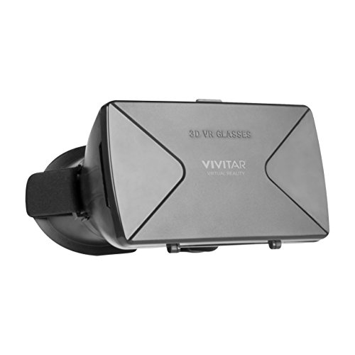 Vivitar VR Glasses, Supports iPhone and Androids (Screen Size 3.5
