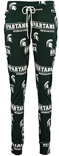 Ladies Michigan State Spartans NCAA Green Fusion Pajama Pants by Concepts Sports (L=12-14)