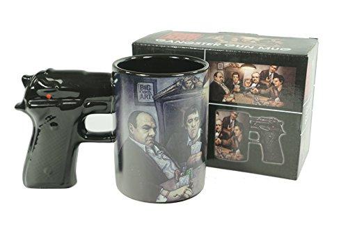 Big Chris Art Gangster Gun Mug 15oz ()
