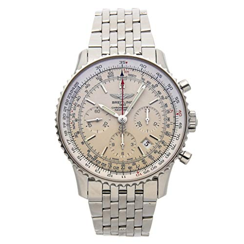 Breitling Navitimer Mechanical (Automatic) Silver Dial Mens Watch AB012312/G756 (Certified Pre-Owned)