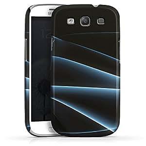 Carcasa Design Funda para Samsung Galaxy S3 i9300 / LTE i9305 PremiumCase white - Blue Fog
