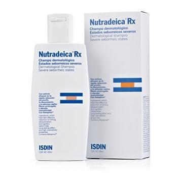 Nutradeica Rx Champú Dermatológico Estados Seborreicos Severos, 200ml. - Isdin Skin Capital