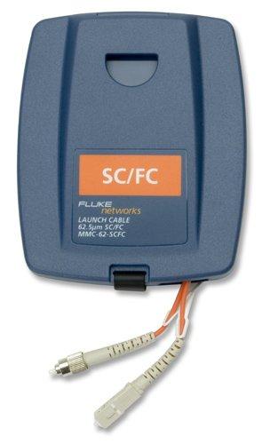 Fc Launch Fiber (Fluke Networks MMC-62-SCFC Multimode Launch Cable, 62.5 µm, 105 m Length,)
