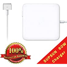 "Macbook Pro Charger, 60W Magsafe2 T-Tip Power Adapter Charger for MacBook Pro 13.3"" Retail Package A1425 A1435 A1465 A1502"
