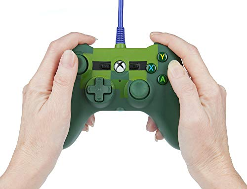 PowerA Mini Wired Controller for Xbox One - Minecraft Zombie - Xbox One (Limited Edition) 6