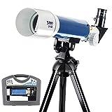 Best Telescopes Telescopes For Beginners - ExploreOne Telescope, 50mm Apeture Astronomy Refracter Telescope 360mm Review