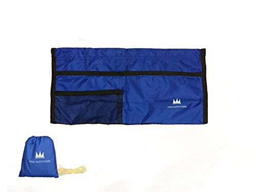 KING OUTFITTERS NOVA Hammock Ridgeline Organizer - Easy Storage For All Hammockers. Compact, Lightweight and Easy Setup [Essential Camping - Items For Essential Camping