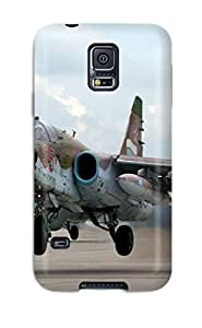 Hot Design Premium QmzPXXe6211zWbwv Tpu Case Cover Galaxy S5 Protection Case(sukhoi Su-25 Frogfoot)