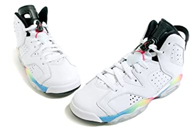 new style 1377b 76bfa Nike AIR Jordan 6 Retro (GS) - 384665-103 - Size 7  Amazon.ca  Shoes    Handbags