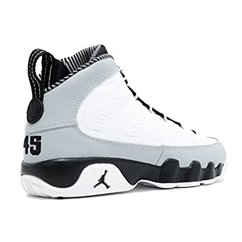 pretty nice ff180 8dbb6 NIKE Boys Air Jordan 9 Retro BG Barons Leather Basketball ...