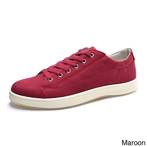 Aureus Mens Lance In Microfibra, Sneakers In Tela Crema