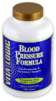 Blood Pressure Formula By VitaLogic - 180 (Blood Pressure Formula)
