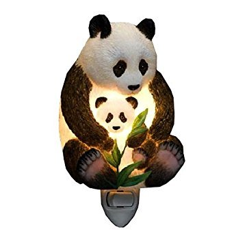 Ibis & Orchid Panda Night Light #50087 (Panda Bear Lamp)