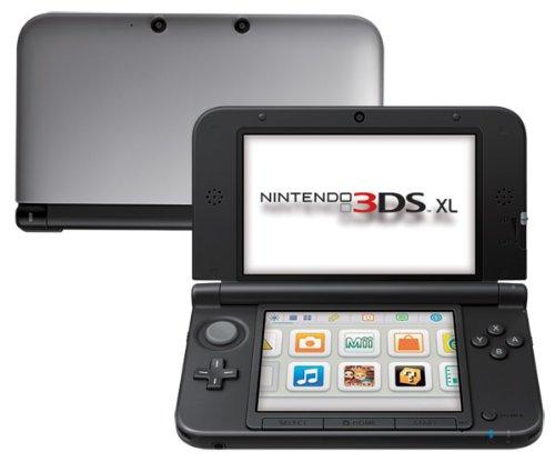 767 opinioni per Nintendo 3DS XL- Console Silver, Nero + Argento