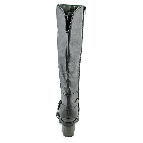 Rag Closed Riding Black Toe Womens American Boots Eboni Knee High O71UdfPW