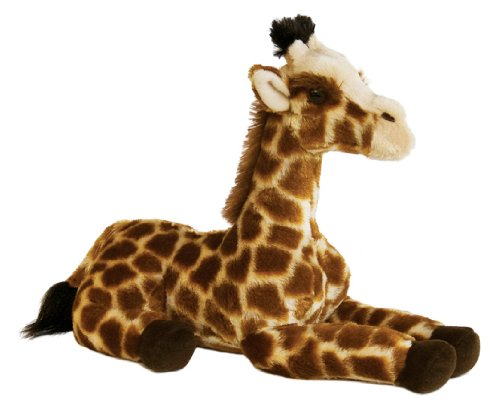 Large Plush Giraffe (Aurora World Inc 12 inches  Acadia The Giraffe Flopsie)