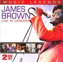James Brown - James Brown Live In Concert - Music Legends 2 Disc Set - Cd / Dvd - Zortam Music