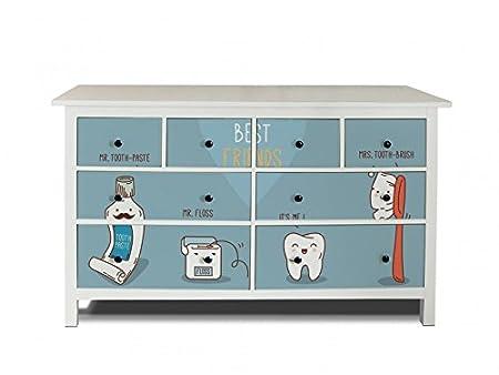 Yourdea Furniture Film for IKEA HEMNES Dresser with 8