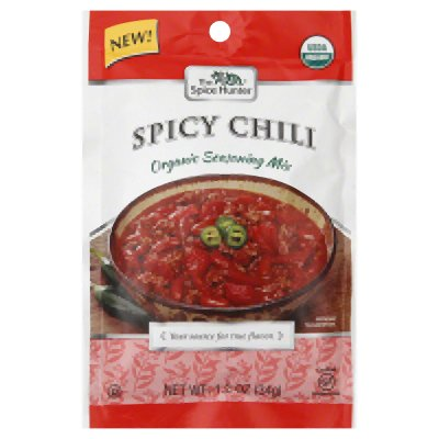 Spice Hunter Organic Chili Mix Spicy 1.20Oz (Pack of 12)