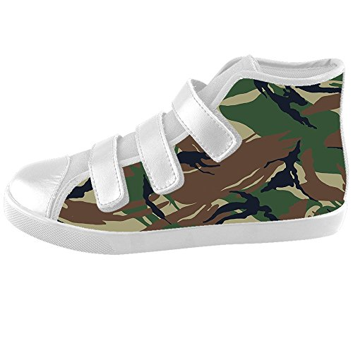 Custom camuffamento Kids Canvas shoes Le scarpe le scarpe le scarpe.