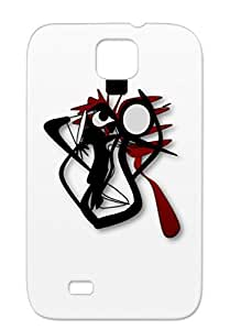 TPU DALTON Cartoon Art Design SEGAGUEYE For Sumsang Galaxy S4 Black Scratch-free Case Cover