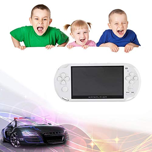Portable Size 5.0 Inch Large Screen 8GB Game Console Handheld Game Player MP3 Player Gamepad With Classic Games by SeniorMar (Image #2)