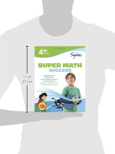 4th Grade Super Math Success: Activities, Exercises, and Tips to ...