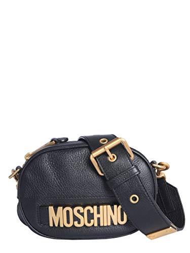 A Spalla Borsa Donna Moschino Nero 744780030555 Pelle 184Hqw