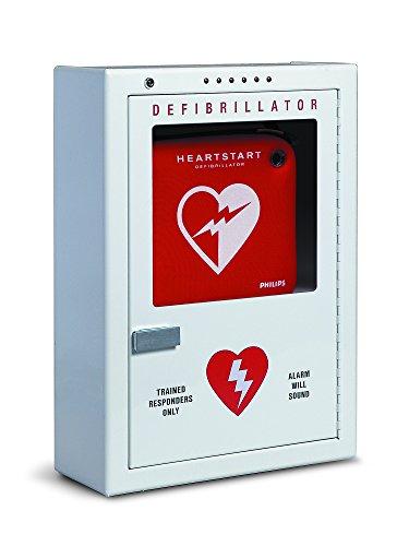 Philips HeartStart AED Defibrillator Premium Wall Cabinet