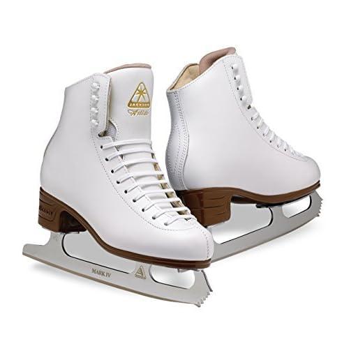 Image of Figure Skates Jackson Ultima Artiste JS1791 White Kids Ice Skates, Width B, Size 3