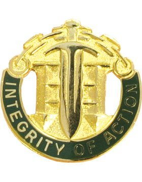 42nd Military Police Brigade Unit Crest (Integrity Of Action)
